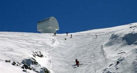 Στην κορυφή του Χελμού δεσπόζει το καμάρι των Βαλκανίων το τηλεσκόπιο